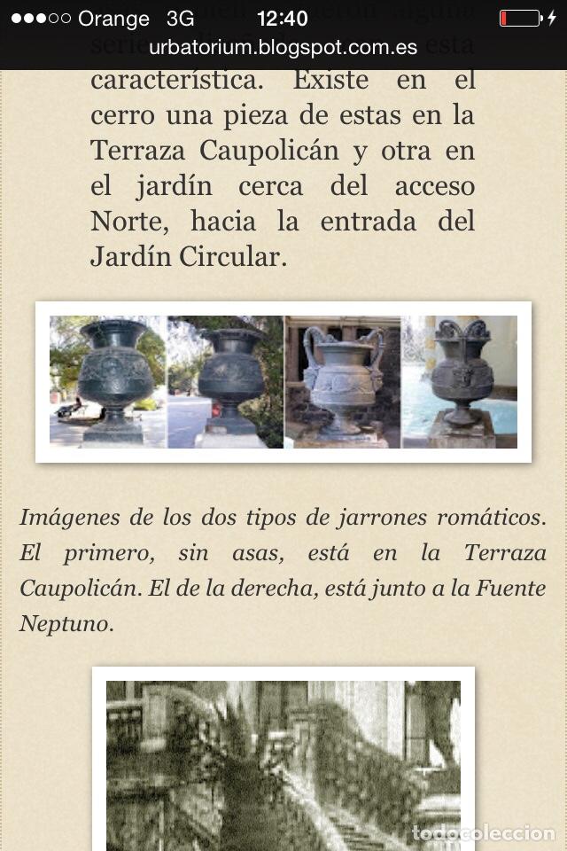Antigüedades: Antiguo Jarrón de hierro colado - Foto 13 - 96038512