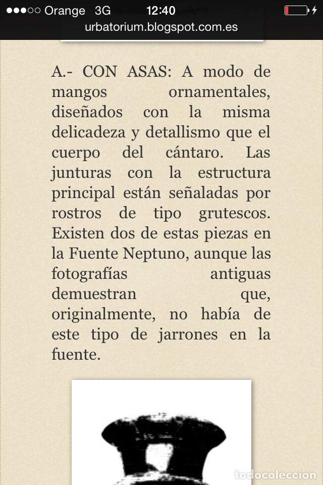 Antigüedades: Antiguo Jarrón de hierro colado - Foto 14 - 96038512