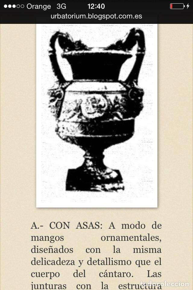 Antigüedades: Antiguo Jarrón de hierro colado - Foto 15 - 96038512