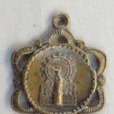Antigüedades: MEDALLA, VIRGEN DEL PILAR, MEDIDAS 23 MM. Lote 128306619