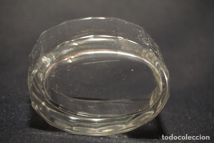 Antigüedades: Salero, especiero. Cristal tallado. Inglaterra. Siglo XIX. - Foto 2 - 128364603