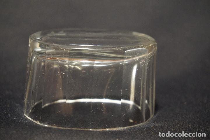 Antigüedades: Salero, especiero. Cristal tallado. Inglaterra. Siglo XIX. - Foto 3 - 128364603