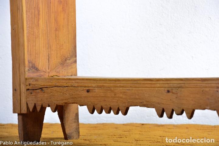 Antigüedades: Estantería antigua de madera - estilo rústico - Foto 4 - 128378123