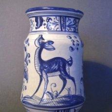 Antigüedades: ALBARELO CERÁMICA DE TALAVERA XX . Lote 128378959