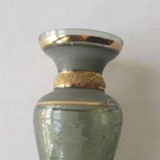 Antigüedades: JARRON FLORERO EN CRISTAL DE BOHEMIA. Lote 128407239