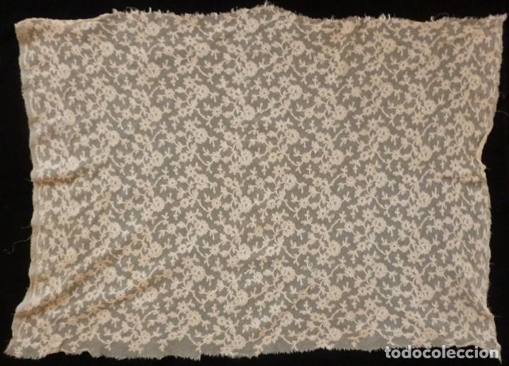 Antigüedades: ANTIGUA PIEZA DE ENCAJE ART DECO - PRINCIPIO S. XX - Foto 2 - 128409471