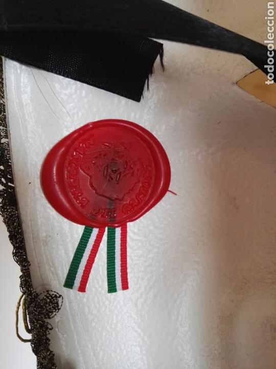 Antigüedades: Mascara Venecia Carnaval original con sello de autenticidad - Foto 11 - 128457406
