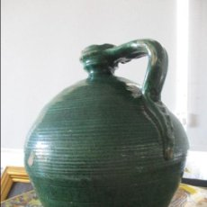 Antigüedades: ANTIGUO CANTARO PERULA VIDRIADA SIGLO XIX. Lote 128483215