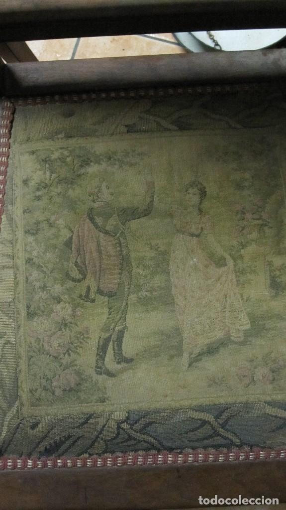 Antigüedades: PAREJA DE SILLAS DE VESTÍBULO, REALIZADAS EN MADERA DE CAOBA - THONET HERMANOS BARCELONA DEL XIX - Foto 9 - 128516223