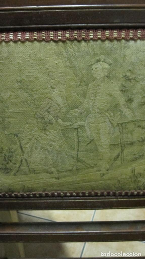Antigüedades: PAREJA DE SILLAS DE VESTÍBULO, REALIZADAS EN MADERA DE CAOBA - THONET HERMANOS BARCELONA DEL XIX - Foto 10 - 128516223