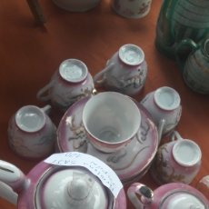Antigüedades: JUEGO SAJI A JAPÓN PERFECTO. Lote 128548915