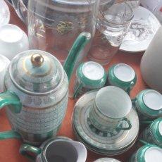 Antigüedades: JUEGO CAFÉ JAPONES. Lote 128549068