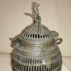Antigüedades: ANTIGUO ESENCIERO BRONCE.. Lote 128557247