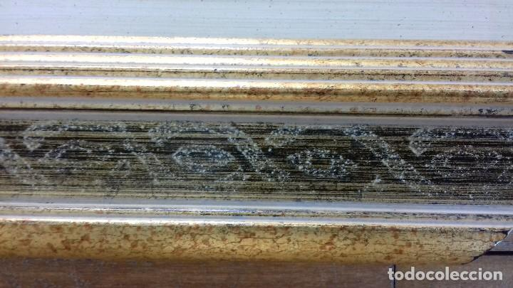 Antigüedades: EXCELENTE MARCO NUEVO PARA OBRA 46X38. DE CALIDAD. CON COMPLEMENTO. - Foto 5 - 128591175