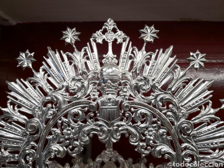 Antigüedades: Corona para virgen de Armenta - Foto 2 - 127770279