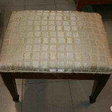 Antigüedades: ESCABEL CEREZO. Lote 128614443
