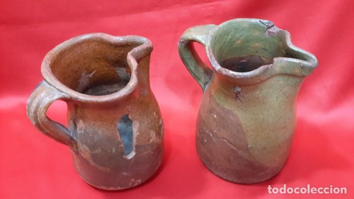 Antigüedades: ANTIGUAS JARRAS - CUARTILLOS DE VINO CASTELLANAS...?? - Foto 2 - 128638651