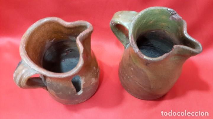 Antigüedades: ANTIGUAS JARRAS - CUARTILLOS DE VINO CASTELLANAS...?? - Foto 3 - 128638651
