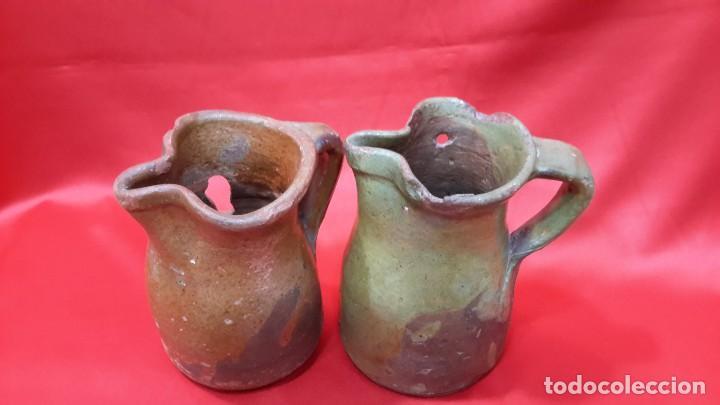 Antigüedades: ANTIGUAS JARRAS - CUARTILLOS DE VINO CASTELLANAS...?? - Foto 7 - 128638651