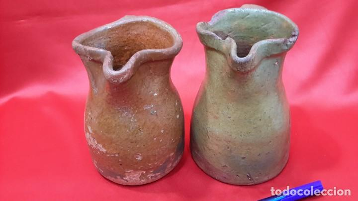 Antigüedades: ANTIGUAS JARRAS - CUARTILLOS DE VINO CASTELLANAS...?? - Foto 8 - 128638651
