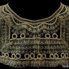 Antigüedades: ANTIGUA CAPELINA DE ENCAJE - PRINCIPIOS S. XX. Lote 128647119