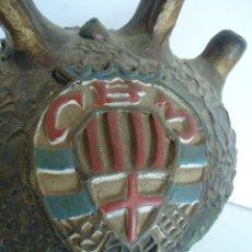Antigüedades: BOTIJO , CANTI CON ESCUDO DE MANRESA ( CLUB BALONCESTO MANRESA) BARCELONA. Lote 128647887
