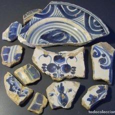 Antigüedades: CONJUNTO DE CERÁMICA CATALANA XVIII_XIX . Lote 128651223