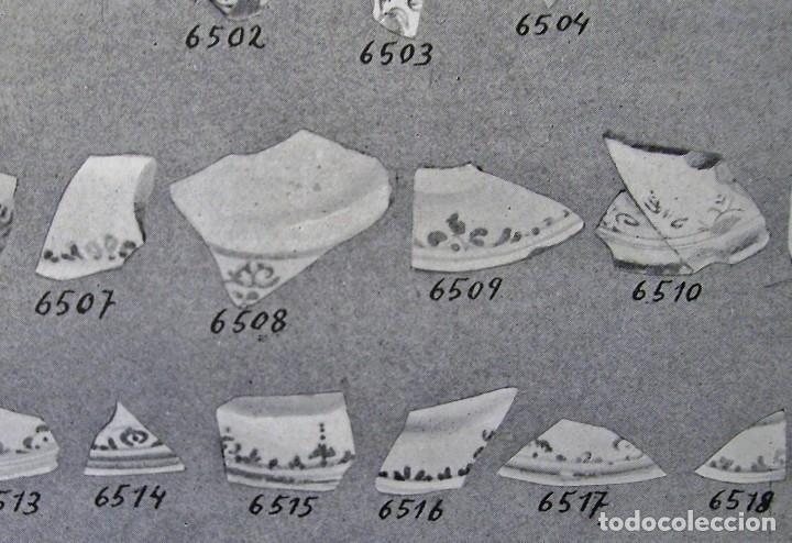 Antigüedades: PLATO CERÁMICA ARAGONESA DE MUEL XVIII - Foto 12 - 128651535