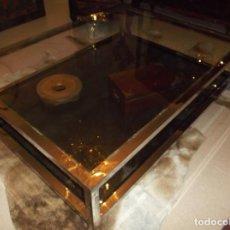 Antigüedades: MESA CROMADA. Lote 128661555