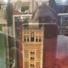Antigüedades: LA GIRALDA PIEZA ANTIGUA ALFARERIA. Lote 128665224