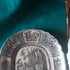 Antigüedades: SARGADELOS GRAN FUENTE 45X35 BUEN ESTADO. Lote 128691243
