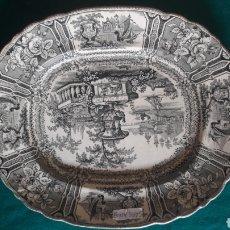 Antigüedades: GRAN FUENTE SARGADELOS SIN RESTAURAR BUEN ESTADO. Lote 128692147