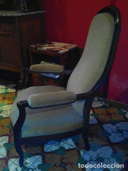 Antigüedades: Par de sillones voltaire franceses - Foto 3 - 94326442