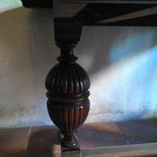 Antigüedades: COMEDOR COMPLETO APARADOR TRINCHERO MESA Y SEIS SILLAS. Lote 128705775