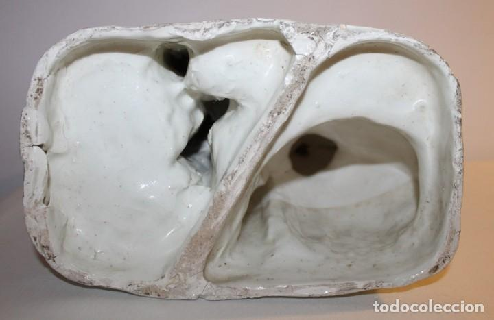 Antigüedades: PAREJA DE VALENCIANOS EN LOZA VIDRIADA DE PRINCIPIOS DEL SIGLO XX - POSIBLEMENTE DE PEYRO - Foto 19 - 128743399