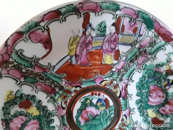 Antigüedades: Dos platos porcelana china - Foto 4 - 128750955