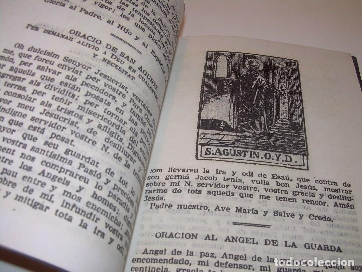 Antigüedades: ANTIGUA Y BONITA CRUZ DE CARAVACA CON LIBRO DE EXORCISMOS Y BENDICIONES. - Foto 9 - 128767015