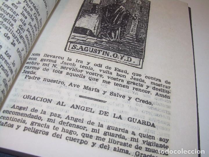 Antigüedades: ANTIGUA Y BONITA CRUZ DE CARAVACA CON LIBRO DE EXORCISMOS Y BENDICIONES. - Foto 10 - 128767015
