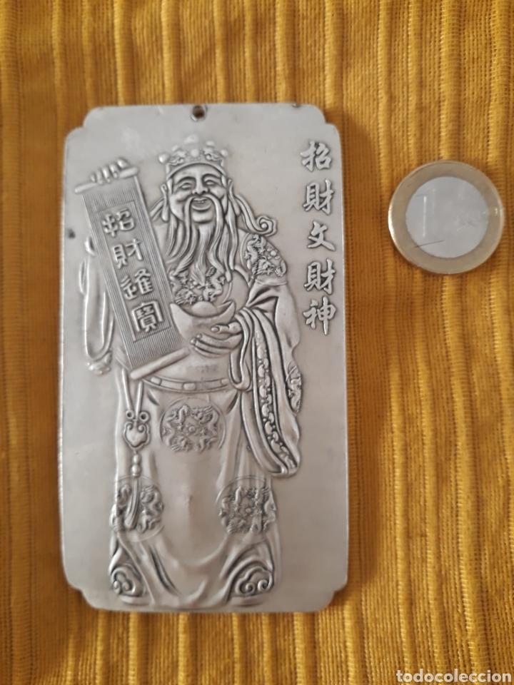 Antigüedades: ANTIGUO LINGOTE PLATA TIBETANA - Foto 2 - 128783331