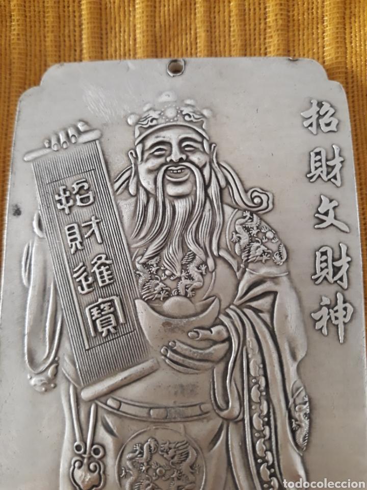 Antigüedades: ANTIGUO LINGOTE PLATA TIBETANA - Foto 3 - 128783331