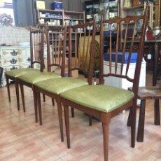 Antiquitäten - Juego de 4 sillas art deco -muy bien conservado . - 128796788