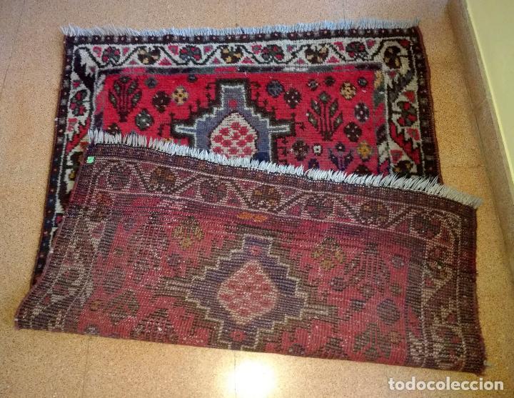 Antigüedades: Alfombra Persa Irán. Hamedan. Lana 100%. 145X105 cm - Foto 5 - 128797927