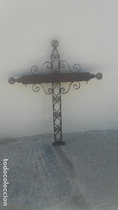 CRUZ DE FORJA (Antigüedades - Religiosas - Cruces Antiguas)