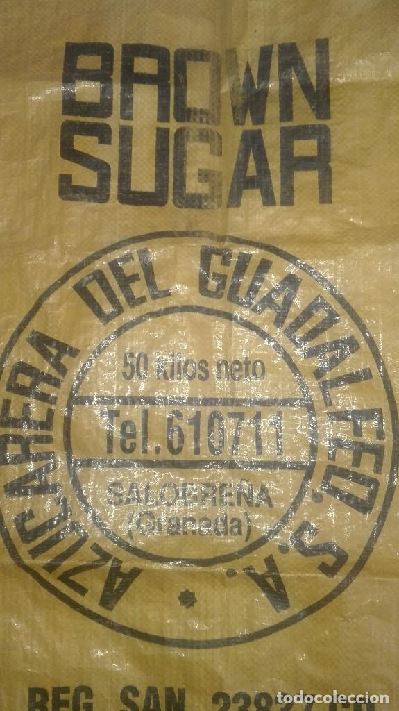 Antigüedades: saco azúcar.azucarera del guadalfeo.Salobreña.años 70-80 - Foto 2 - 128852375