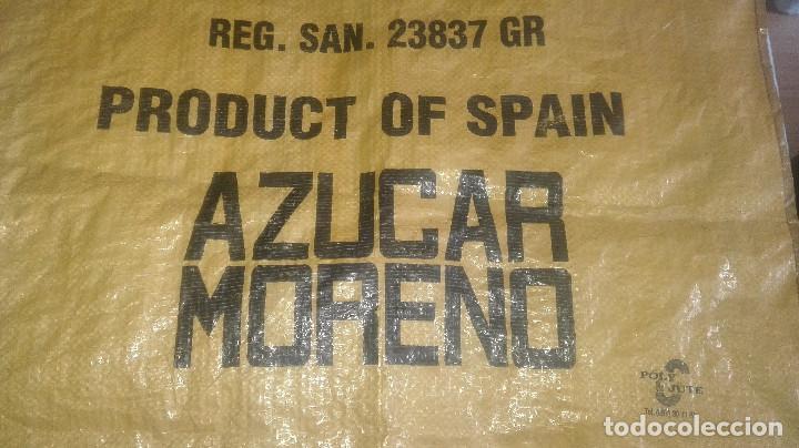 Antigüedades: saco azúcar.azucarera del guadalfeo.Salobreña.años 70-80 - Foto 3 - 128852375