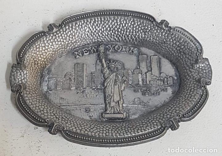 CENICERO NUEVA YORK (Antigüedades - Hogar y Decoración - Ceniceros Antiguos)