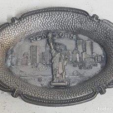 Antigüedades: CENICERO NUEVA YORK. Lote 128862079