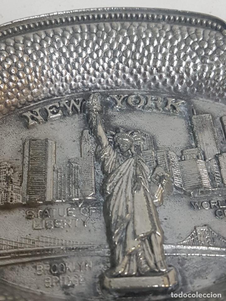 Antigüedades: Cenicero Nueva York - Foto 2 - 128862079