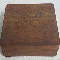 Antigüedades - Caja/joyero madera - 128862347