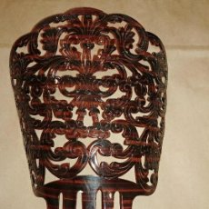 Antigüedades: PEINETA DE GRAN TAMAÑO. Lote 128874039